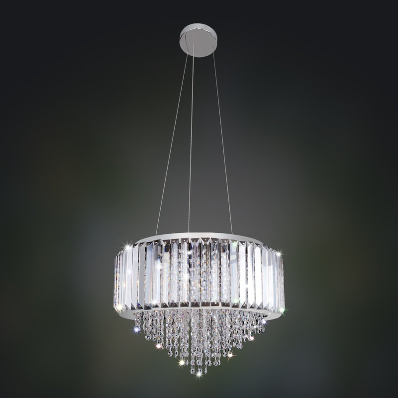 Crystal lighting by allegri bardsleys lighting design i takapuna beach